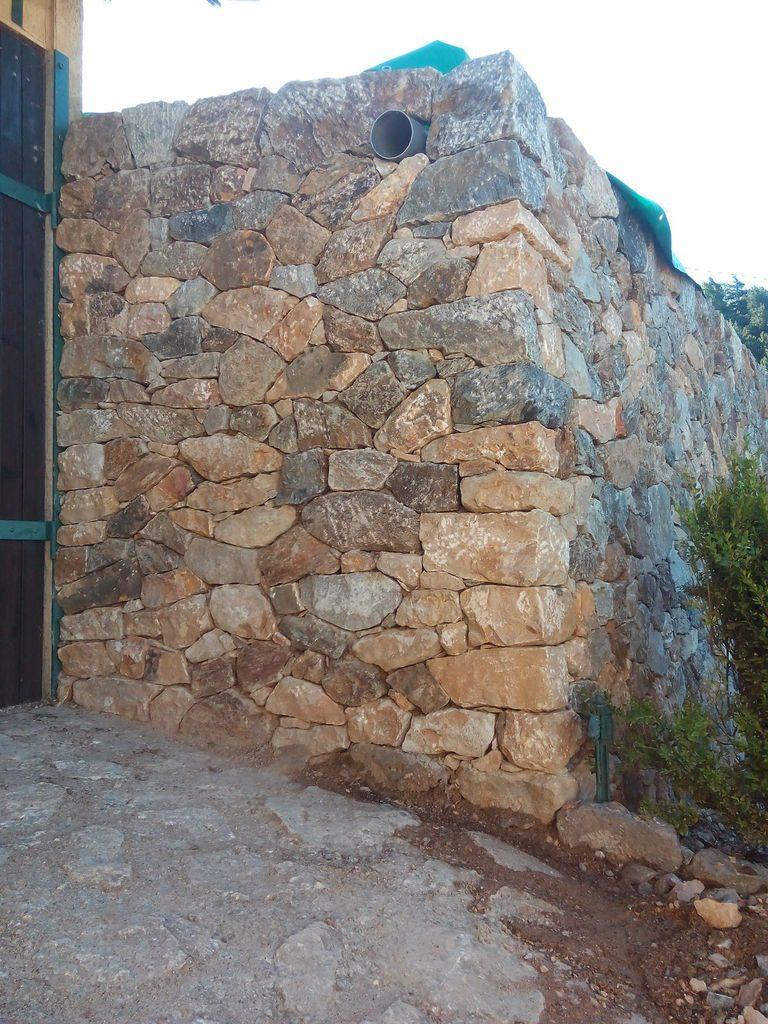 Pierre De Parement En Granit cave bioclimatique en pierre seche - laurent bockel